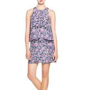 Joie Everla Silk Floral Pleated Dress Size Medium